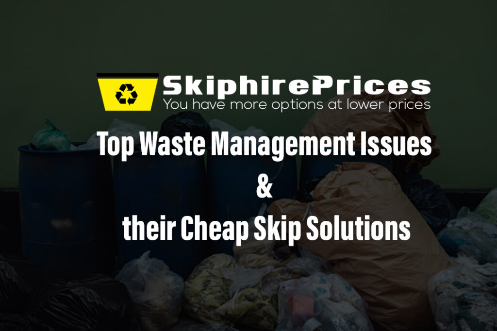 Top Waste Management Issues and their Cheap Skip Solutions